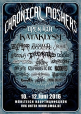 10.06.2016: 14. Chronical Moshers Open Air