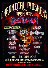 07.06.2013: 11. Chronical Moshers Open Air