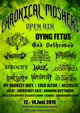 12.06.2015: 13. Chronical Moshers Open Air