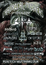07.06.2012: 10. Chronical Moshers Open Air