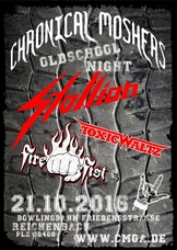 "21.10.2016: Chronical Moshers ""Oldschool Night"" 2016"
