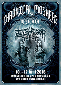 Belphegor @ Chronical Moshers 2016