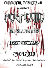 24.04.2010: Lost Dreams - Moshquito - Remember The Dying Memories