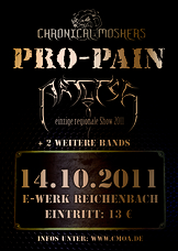 14.10.2011: Pro Pain - Undivided - Artless - Soulline - Devils Mother