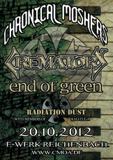 20.10.2012: Crematory & End Of Green